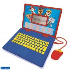 Paw Patrol - Zweisprachiger Laptop für Bildungszwecke Englisch und Deutsch