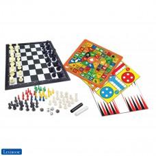 Set mit 8 Spielen in 1, Schach