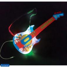PAW Patrol Helfer auf vier Pfoten Elektronische gitarre mit Licht und Mikrofon