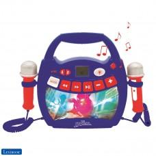 Spiderman - Mein erster Karaoke Musikplayer für kinder mit 2 Spielzeugmikrofonen