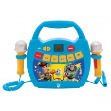 Mein erster digitaler Player mit 2 Spielzeugmikrofonen Toy Story 4