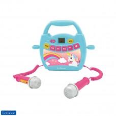 Einhorn, Mein erster Karaoke Musikplayer mit 2 Spielzeugmikrofonen