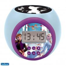 Projector-Wecker Disney Frozen 2 Anna Elsa mit Schlummerfunktion und Weckfunktion