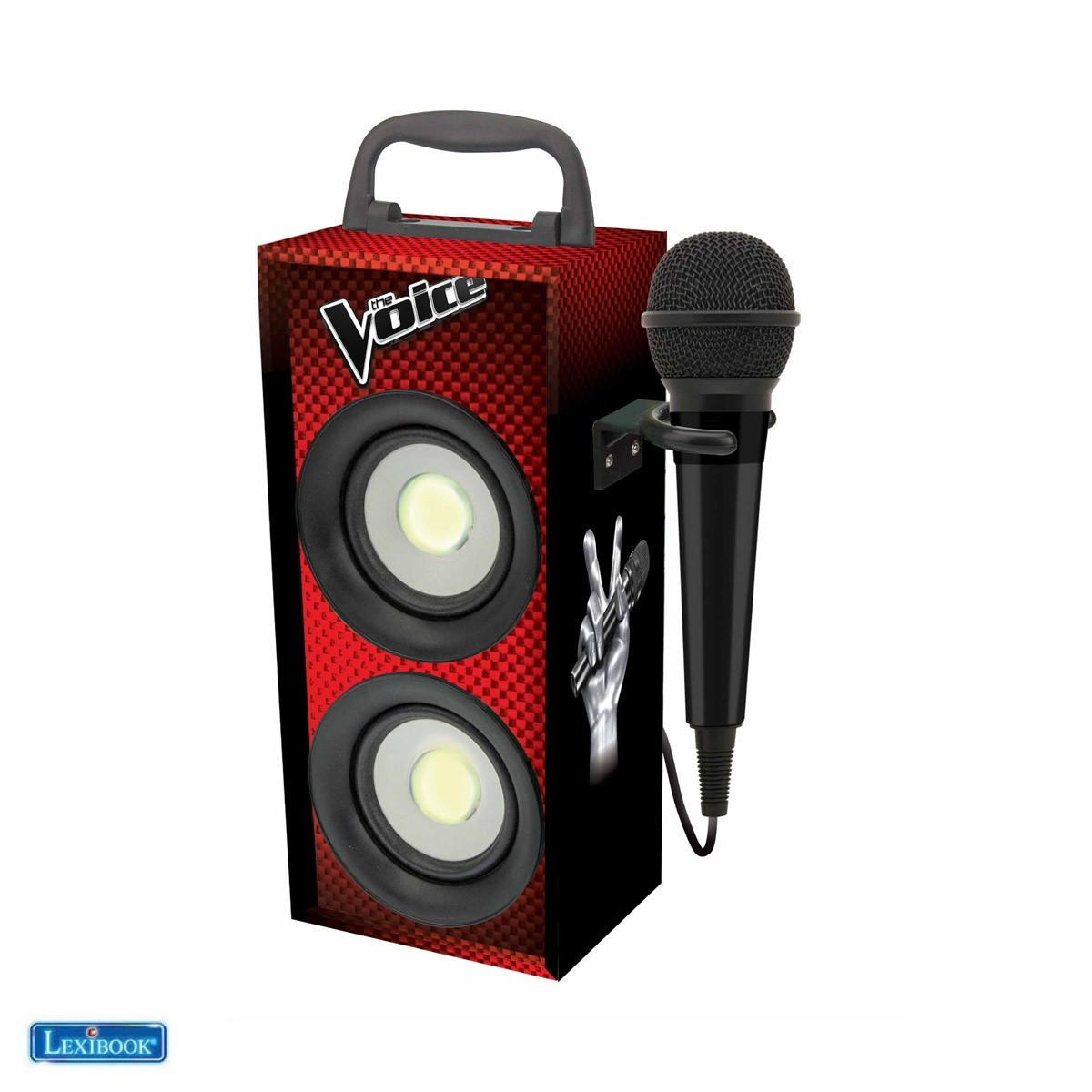 Mini tour Bluetooth® avec micro The Voice - Lexibook