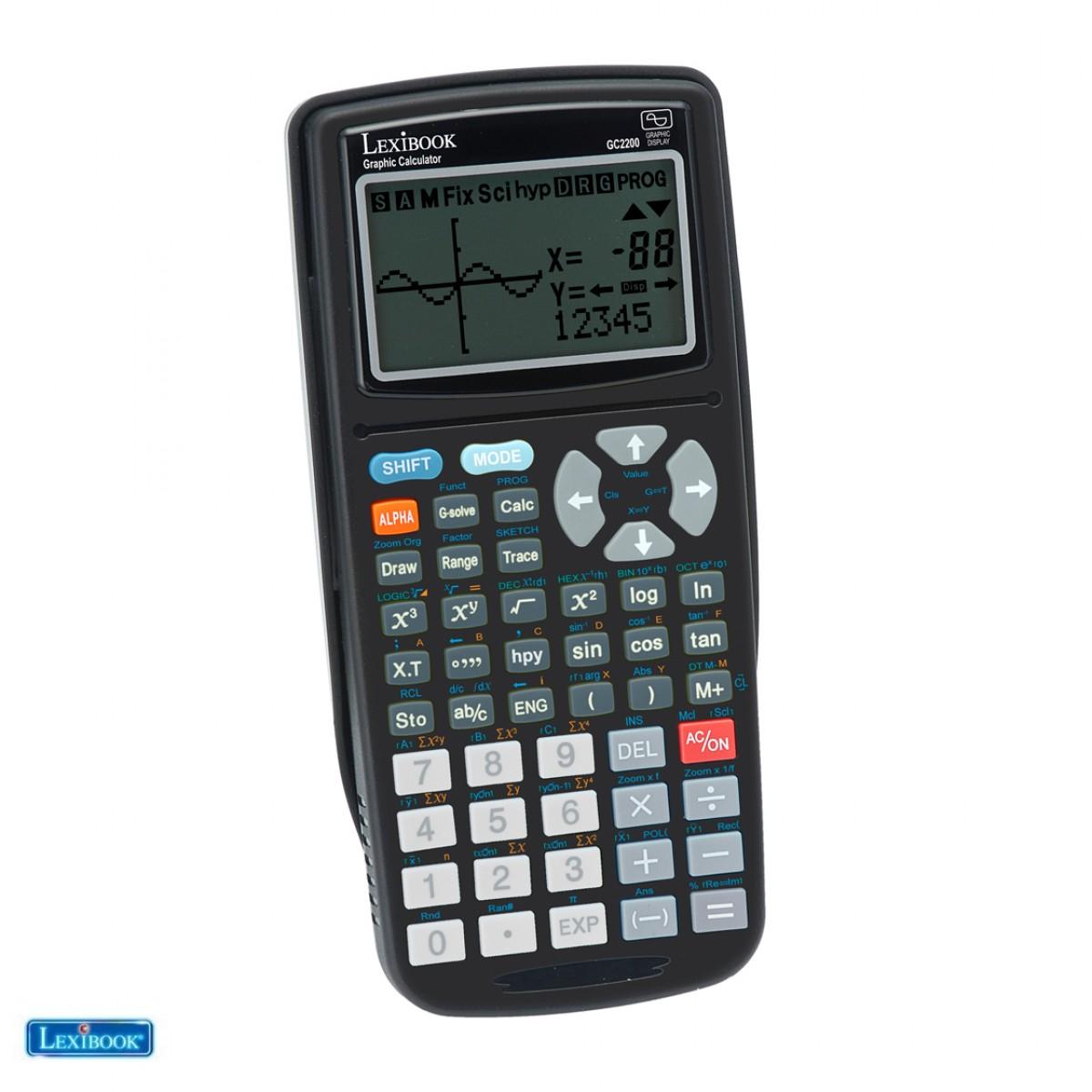 GC2200FR-04 - Calculatrice Graphique 262 fonctions - Lexibook