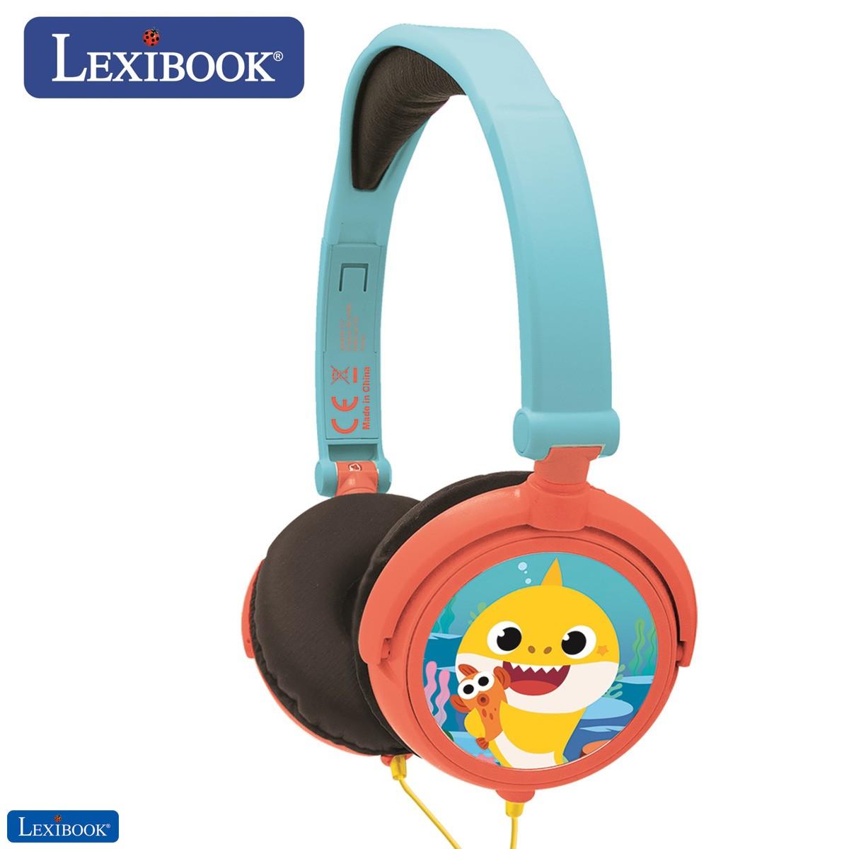 Baby Shark Nickelodeon - Casque audio stéréo enfant
