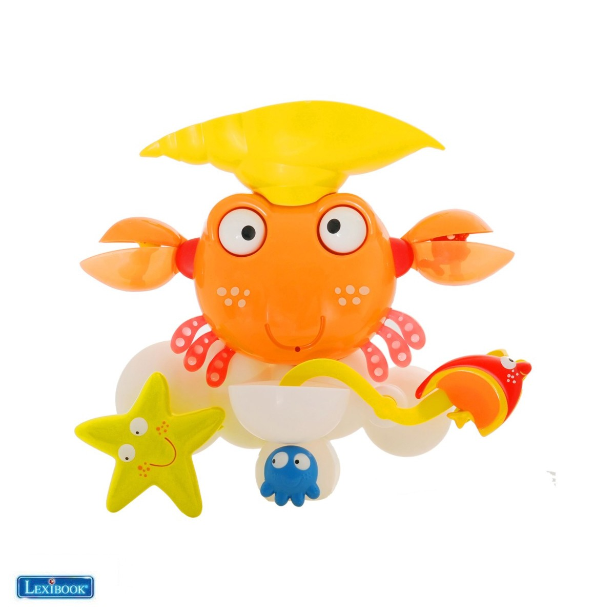 "Jeu de bain ""Water Crab®"", Crabe de bain - Lexibook IT025-07"