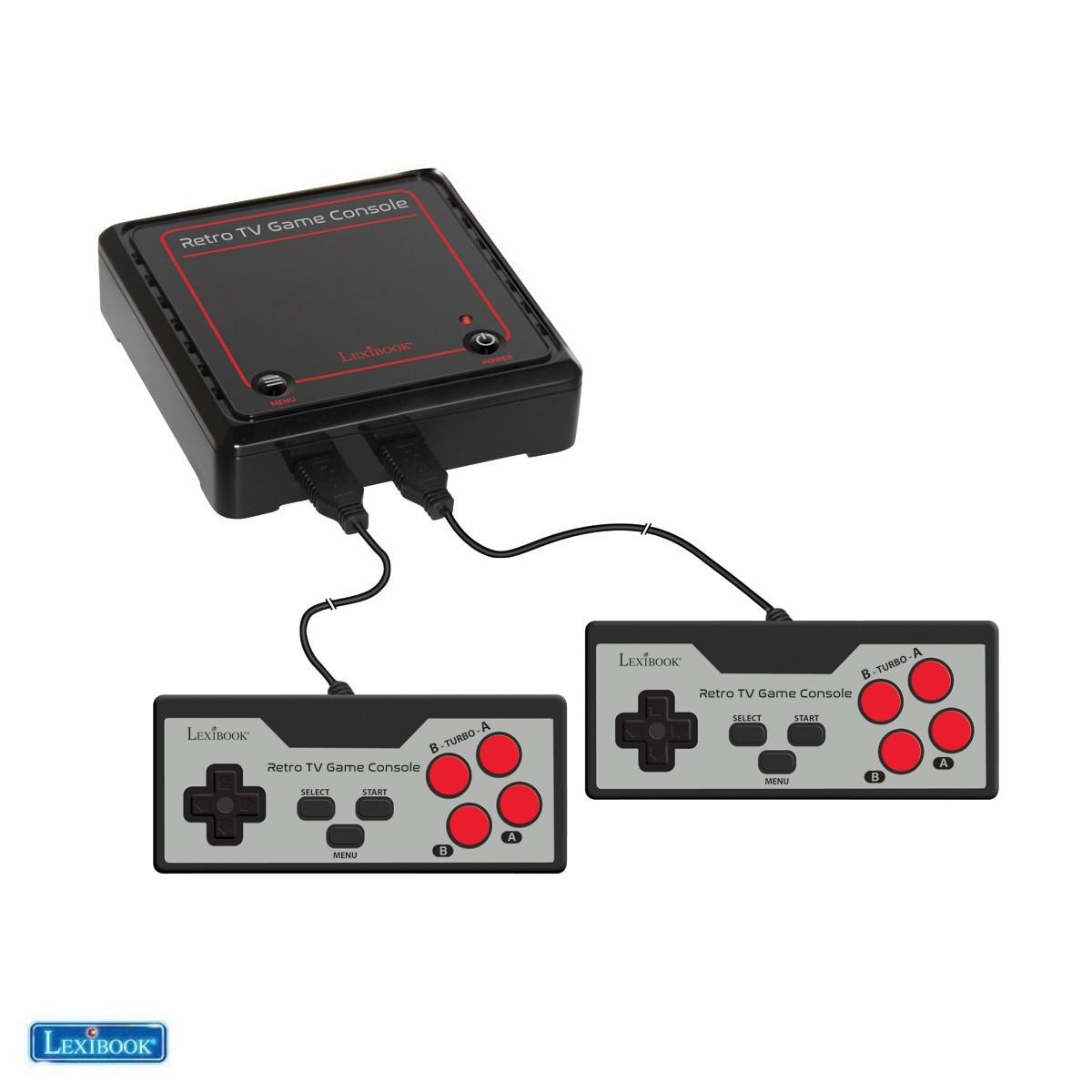 Console de jeux TV Plug N'Play avec 300 jeux - Lexibook JG7800