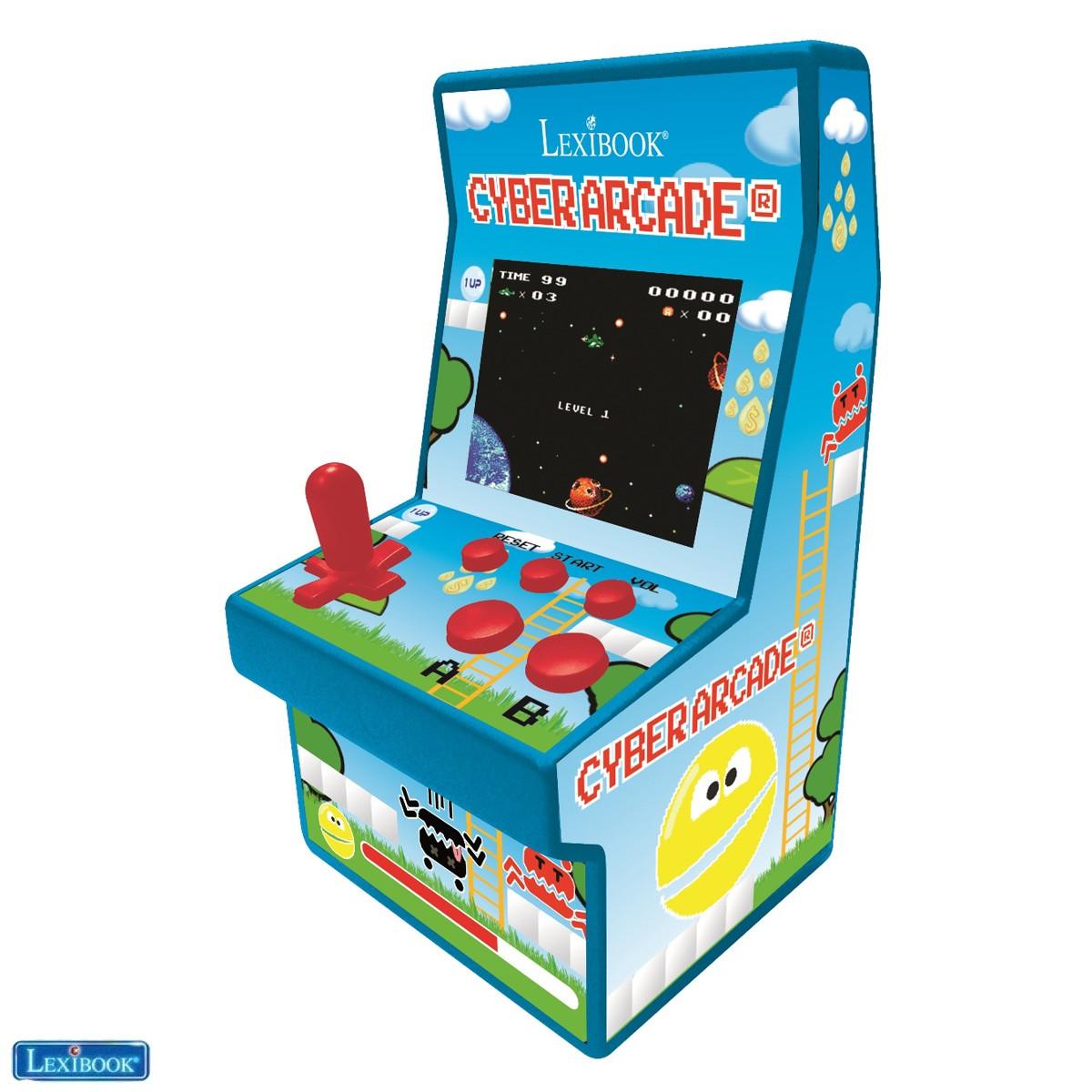 Console de jeux portable retro Cyber Arcade® 200 jeux