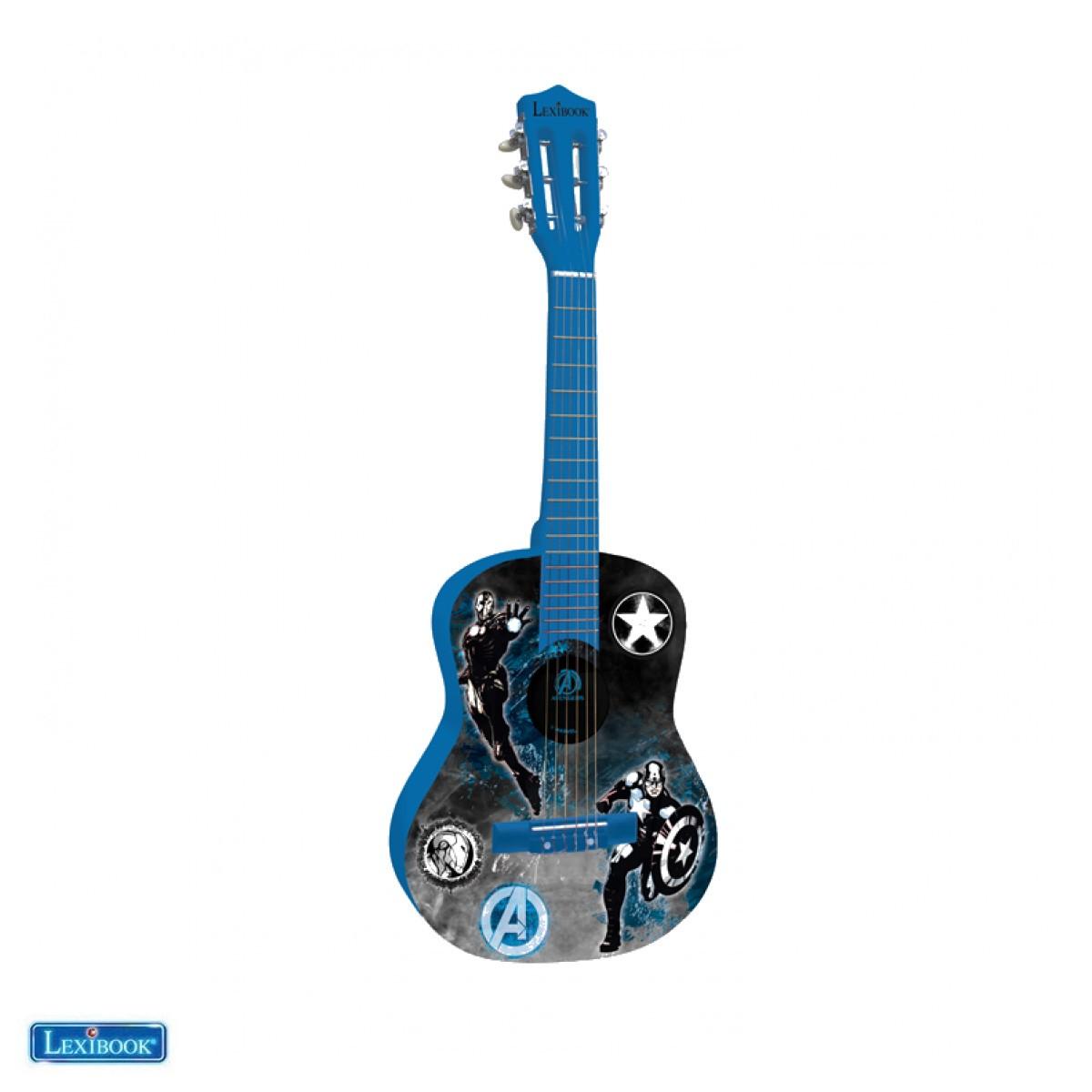 K2000AV Guitare Acoustique Avengers - Lexibook