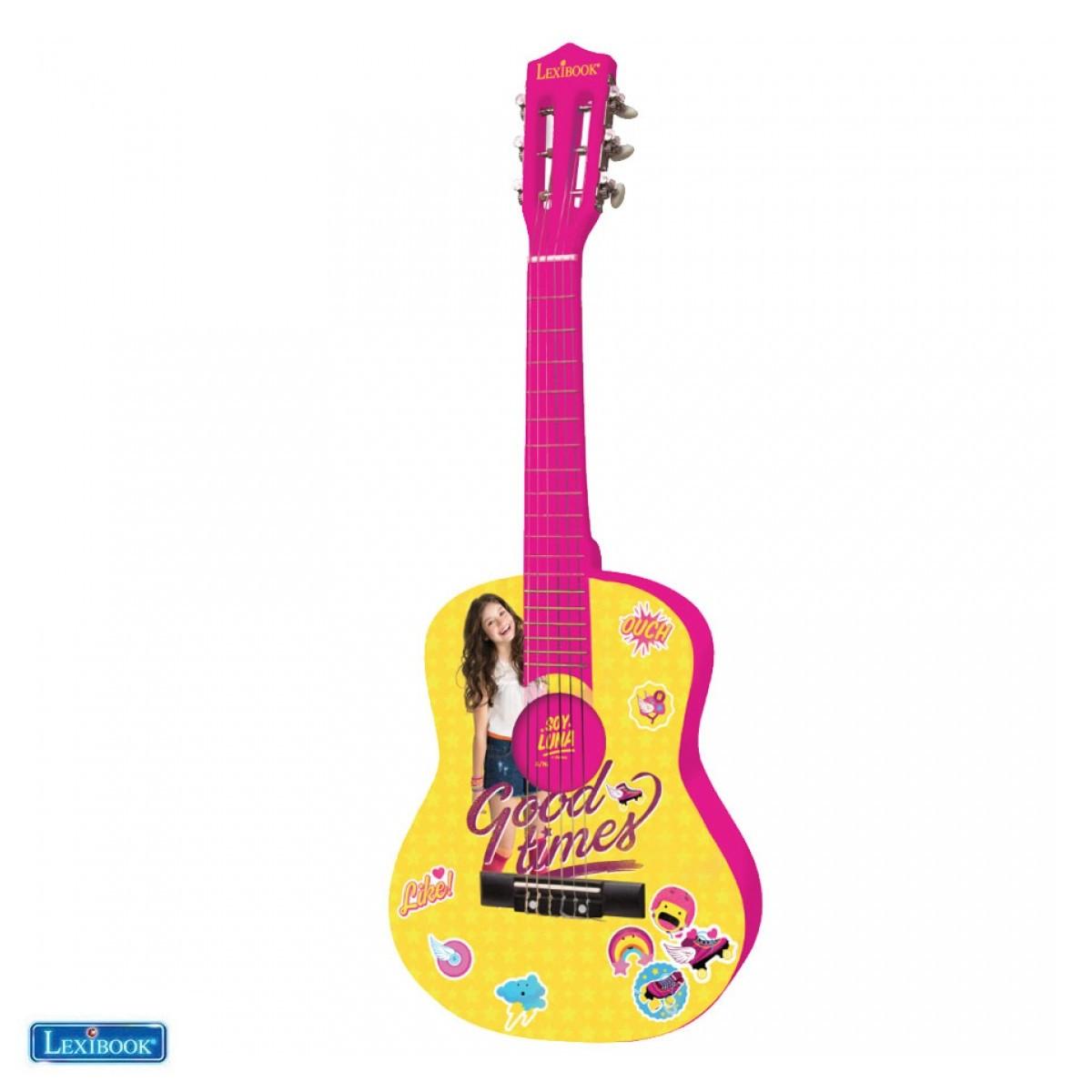 K2000SL - Guitare Acoustique Disney Soy Luna - Lexibook