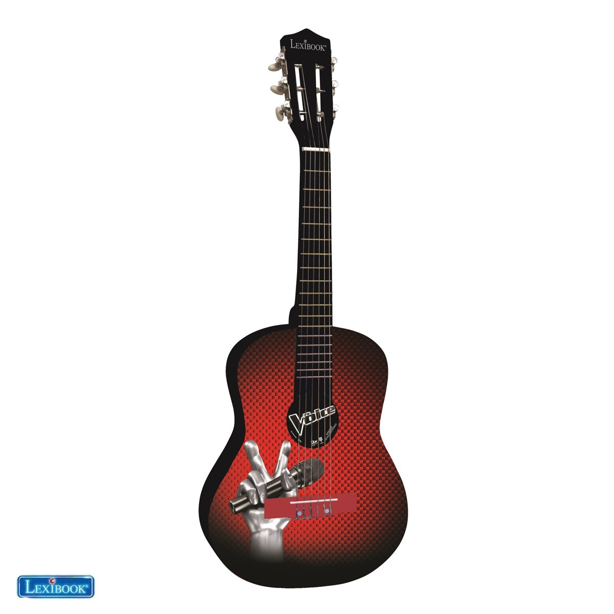 Lexibook The Voice La Plus Belle Voix Guitare acoustique en bois