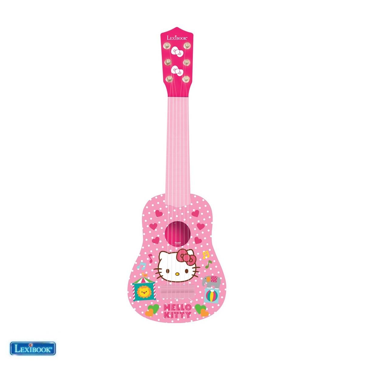 Ma première guitare Hello Kitty - Lexibook K200HK-00