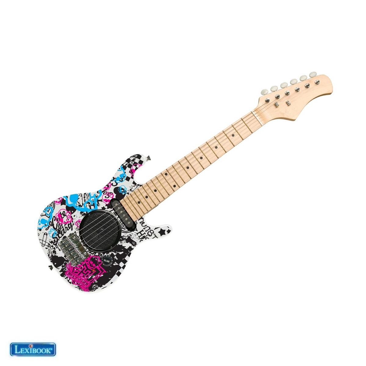 K2500L Guitare électrique avec ampli intégré 6W, design 100% girly - Lexibook
