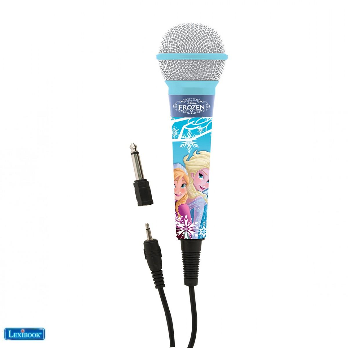 Lexibook - MIC100FZ - Microphone La Reine des Neiges