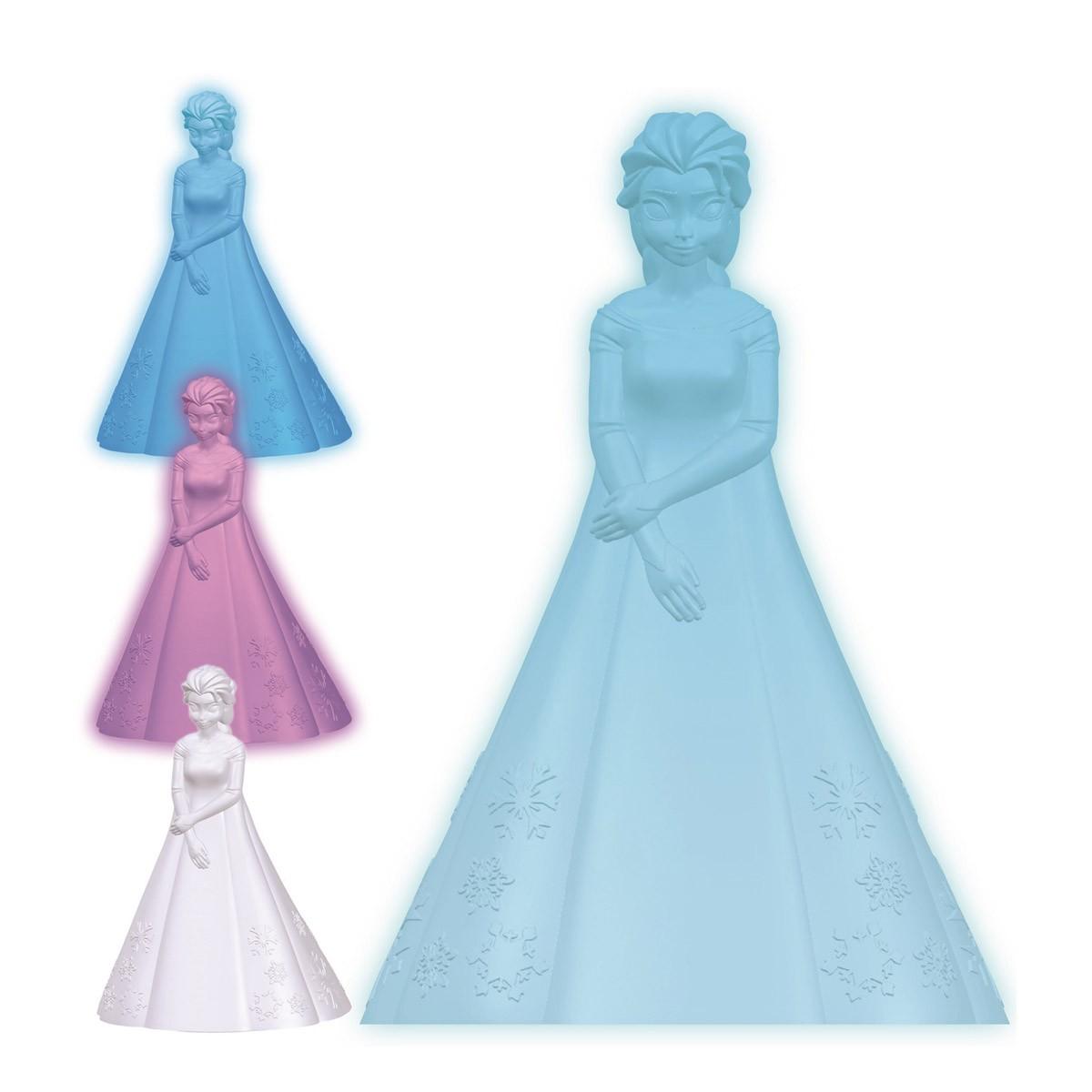 Veilleuse Couleur Elsa La Reine des Neiges
