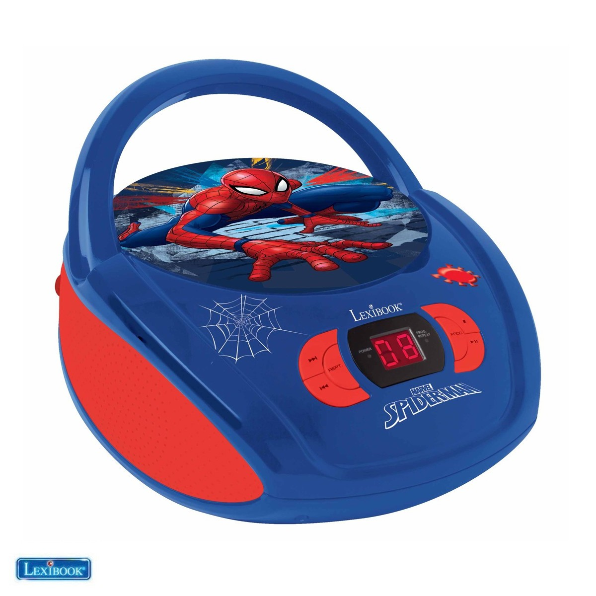 RCD108SP Radio Lecteur CD Spider Man - Lexibook