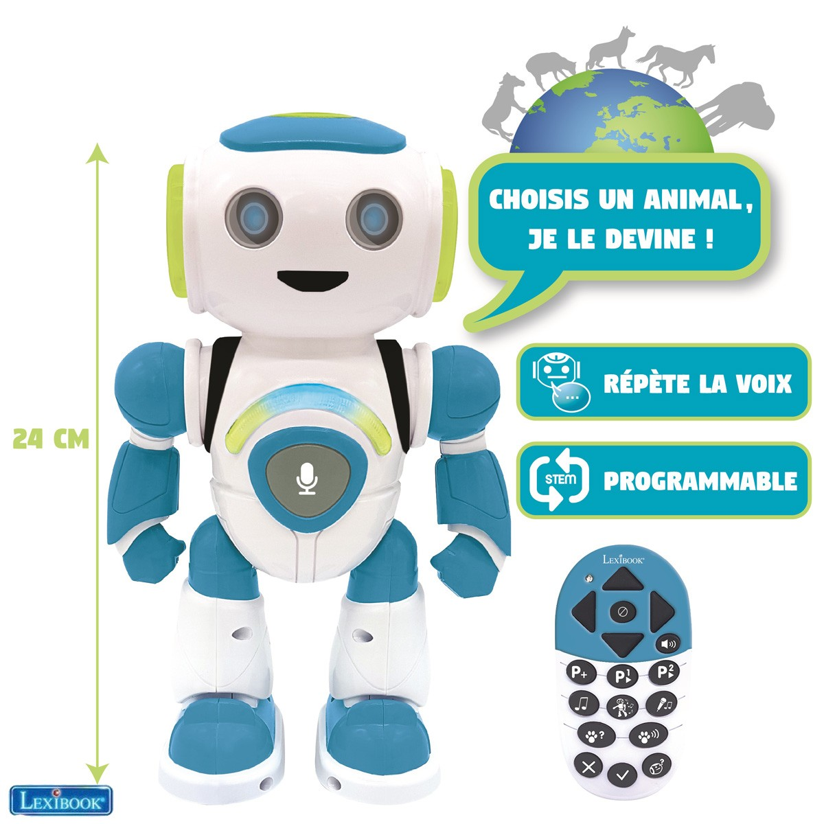 Robot programmable POWERMAN® JR.