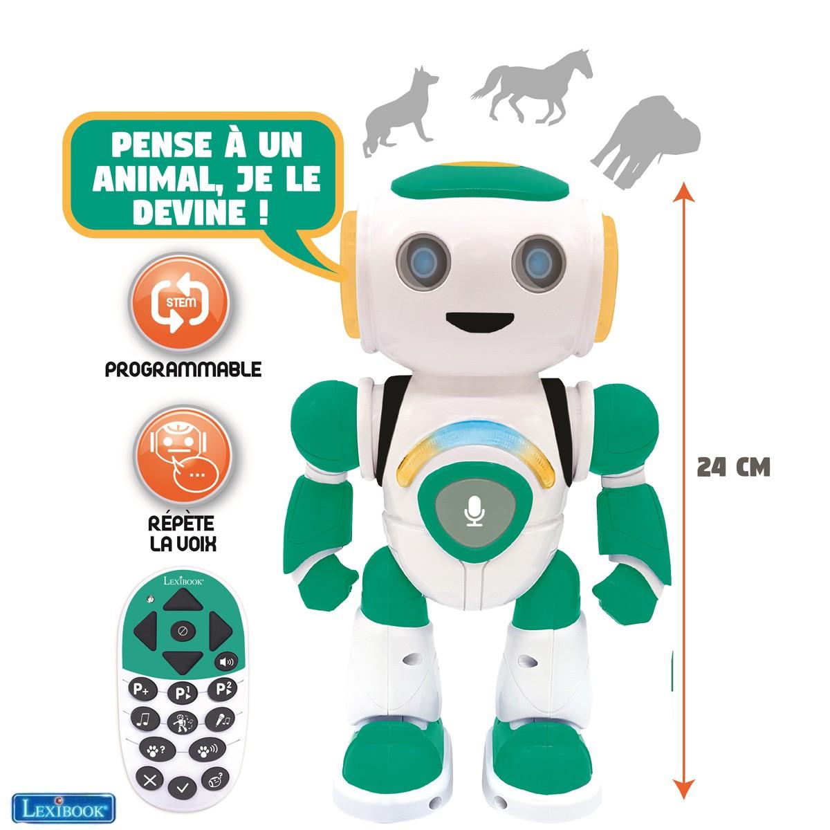 Robot programmable POWERMAN® JR. - vert