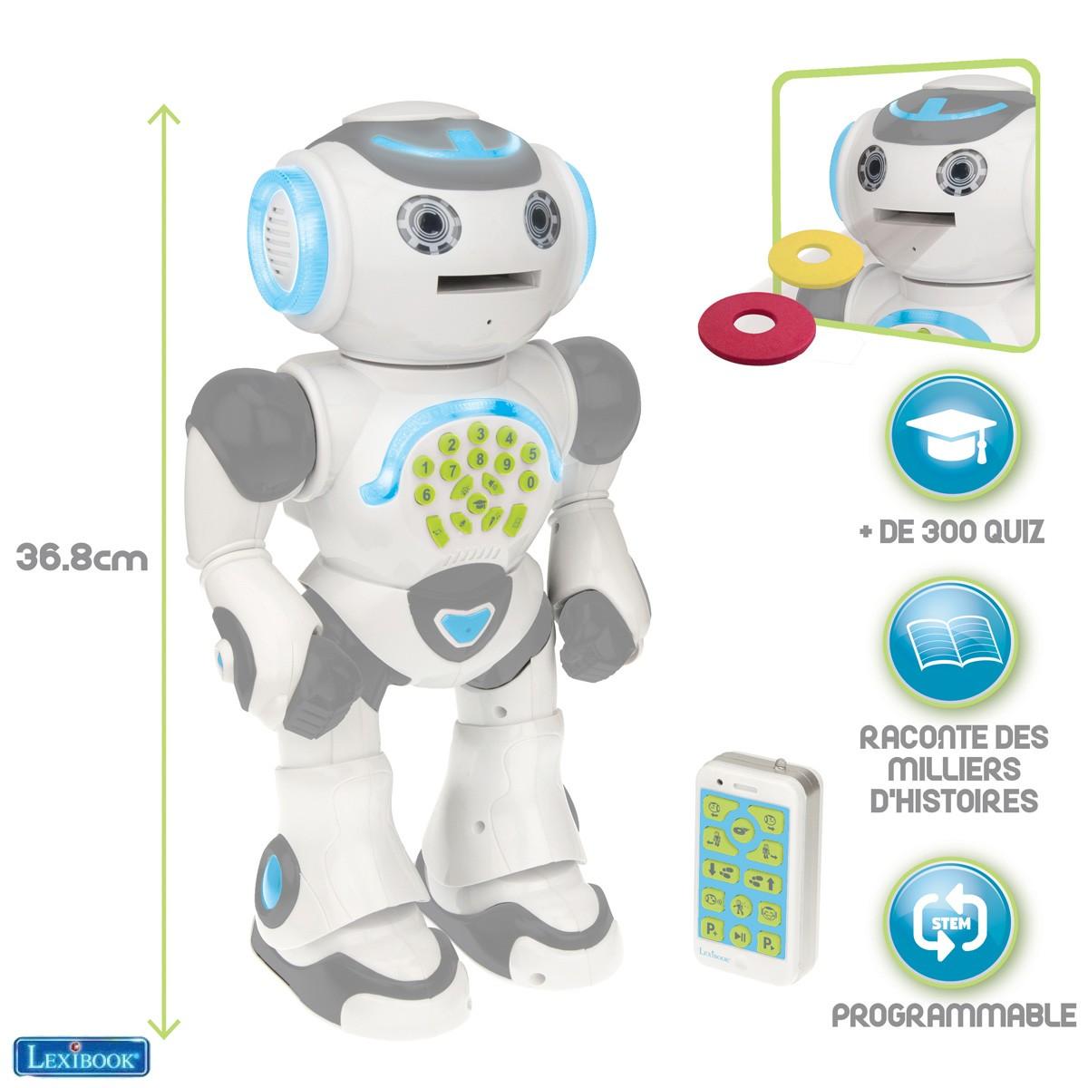 Robot éducatif & programmable POWERMAN® MAX