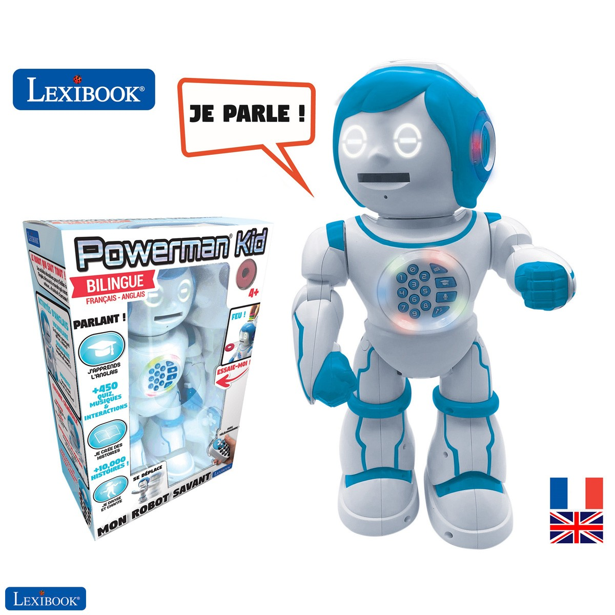 Robot éducatif bilingue POWERMAN® KID