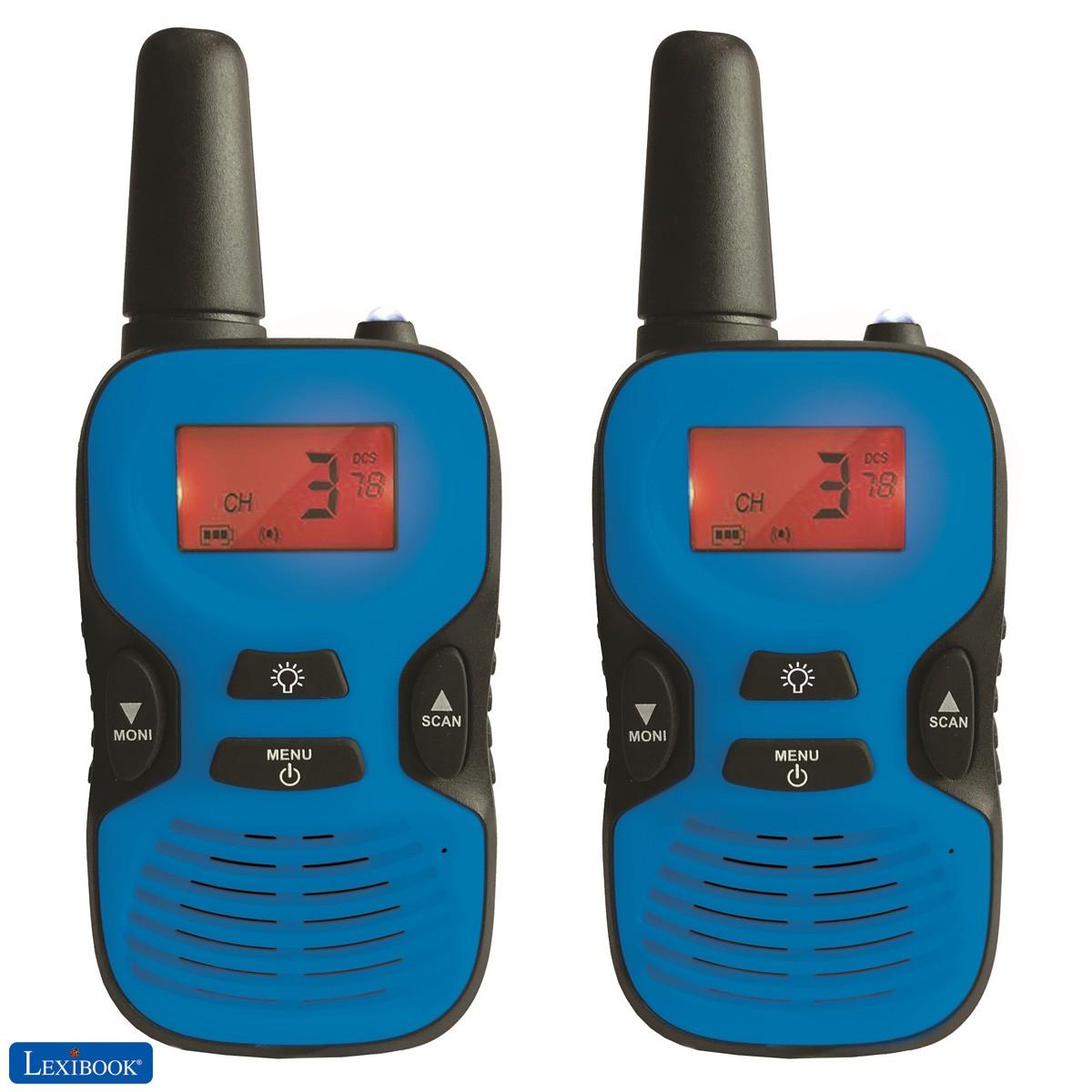 Talkies-walkies numériques longue distance 5km
