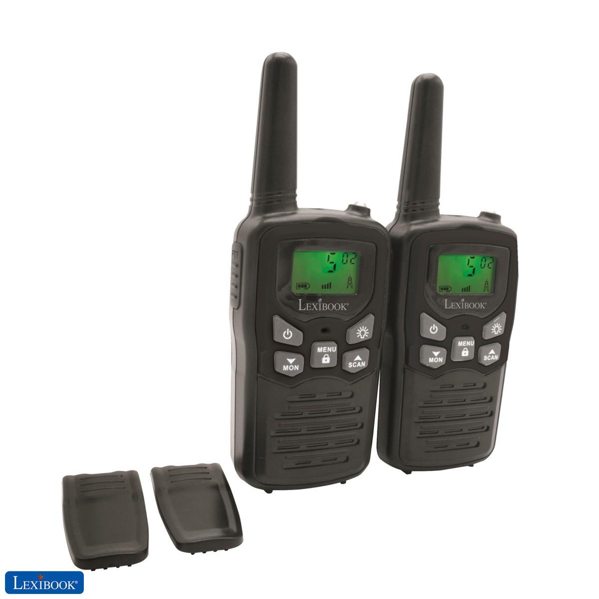 Talkie-walkies numériques longue distance 8km