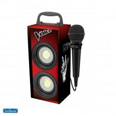 Mini tour Bluetooth® avec micro The Voice
