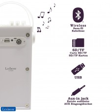 iParty - Enceinte Portable Bluetooth Lumineuse avec Micro