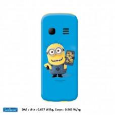 Téléphone Portable Minions Moi, Moche et Méchant débloqué 2G double SIM