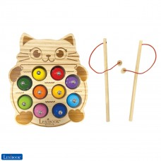 Bio Toys Jeu de pêche à la ligne Chat en bois