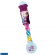 Frozen La Reine des Neiges Microphone Lumineux pour enfant