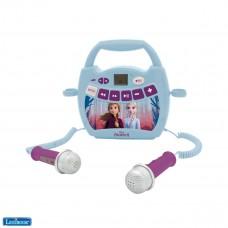 Disney La Reine des Neiges 2 Elsa, Anna - Mon premier lecteur musical avec micros