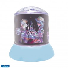 Veilleuse Disney Frozen lumière douce, projections lumineuses au plafond