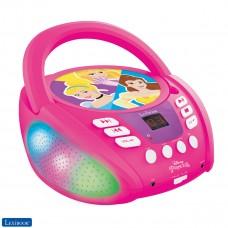 Disney Princesses - Lecteur CD Bluetooth pour enfants