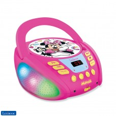 Disney Minnie - Lecteur CD Bluetooth pour enfants