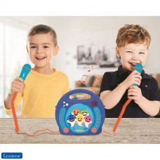Baby Shark Nickelodeon - Lecteur CD Karaoké avec 2 microphones