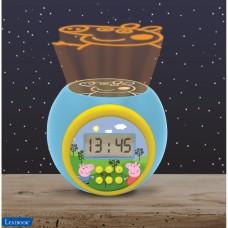 Réveil projecteur Peppa Pig avec fonction alarme et répétition snooze