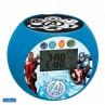 Radio Réveil Projecteur Avengers - Lexibook RL975AV