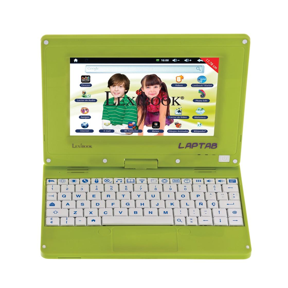 ¡LapTab es la mezcla perfecta entre un tablet y un laptop!