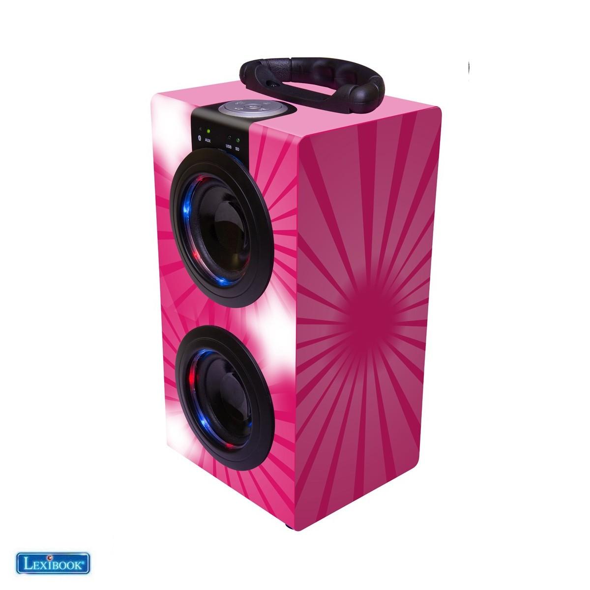 Karaoke Portable avec Micro - Lexibook BT600PKZ