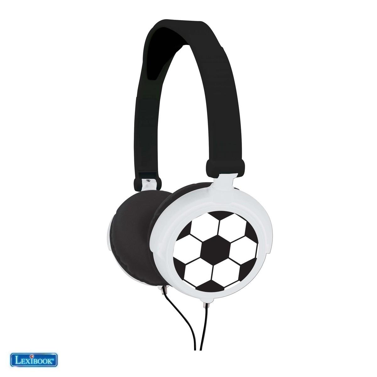 Casque audio stéréo football - Lexibook HP015FO