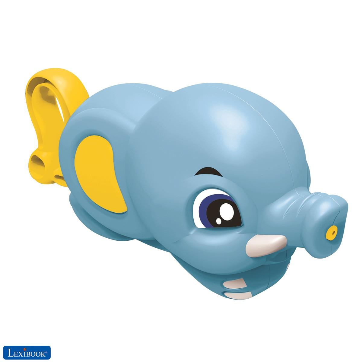 Lexibook Juego de baño Elefante asperor de agua azul/amarillo