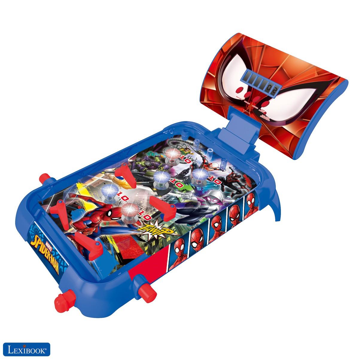 Marvel Spider-Man Máquina electrónica de pinball de mesa