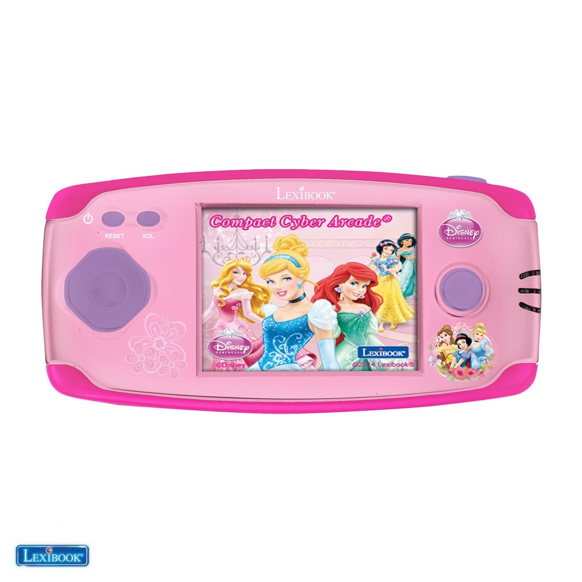 Console Arcade® Center Disney Princess - Lexibook JL2365DP-02