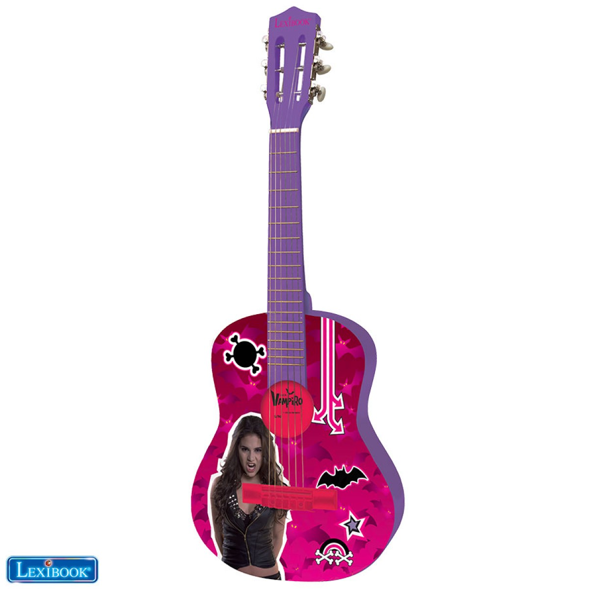 Guitare Acoustique Chica Vampiro - K2000CV - Lexibook