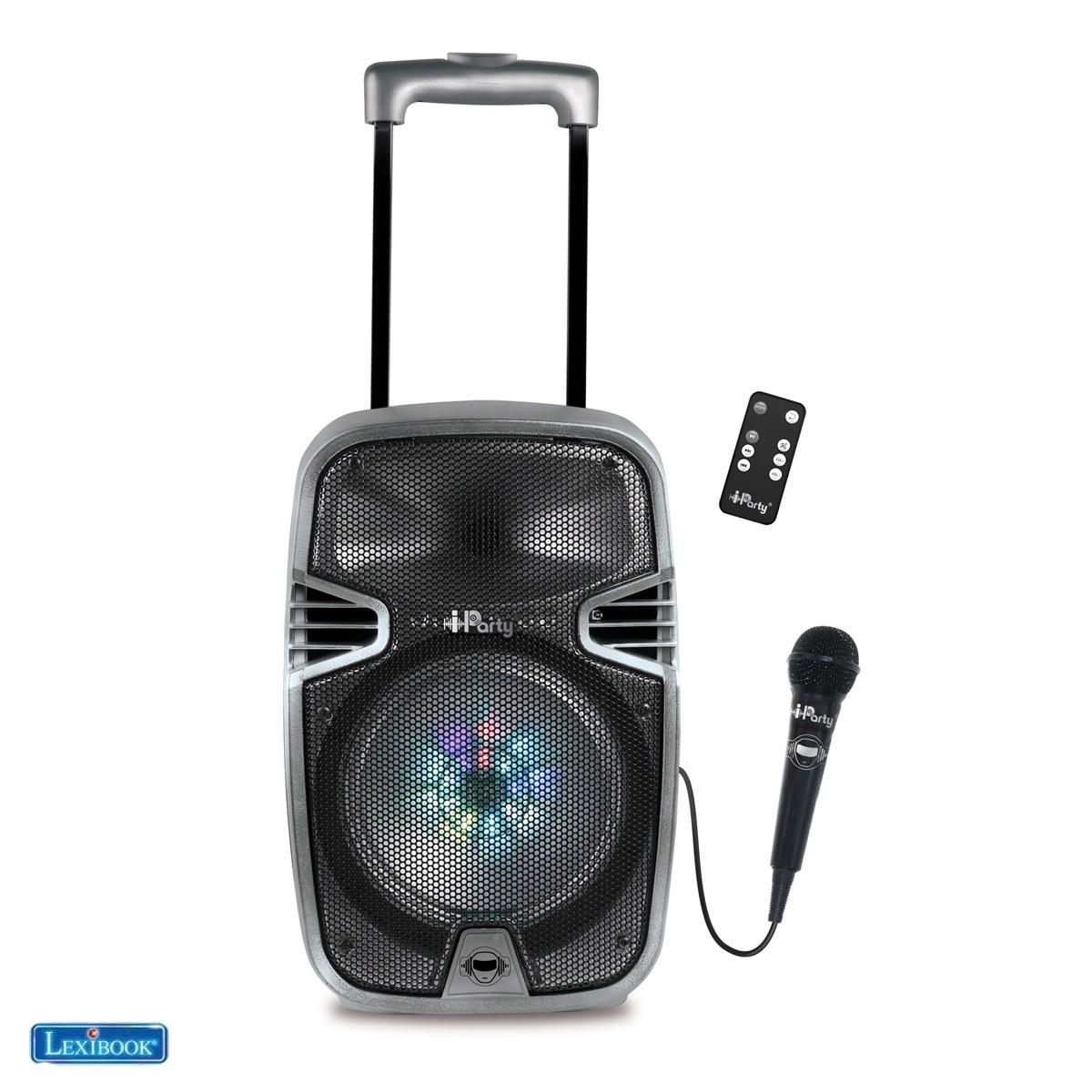Lexibook IParty Enceinte karaoké Bluetooth® iParty - Lexibook K8250-02