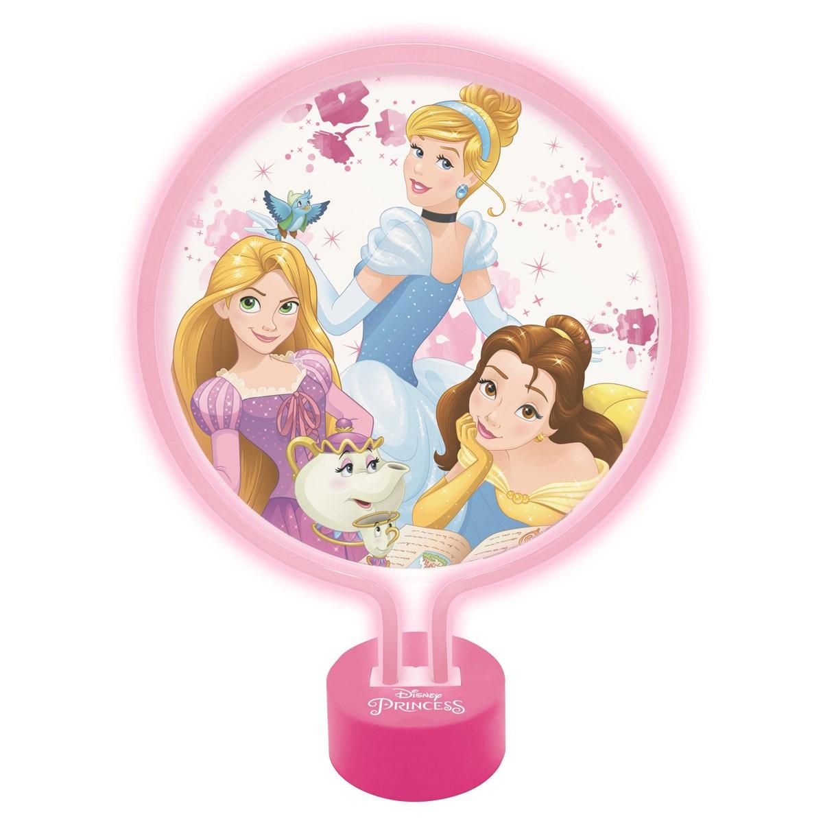Lámpara de Neón Disney Princesas