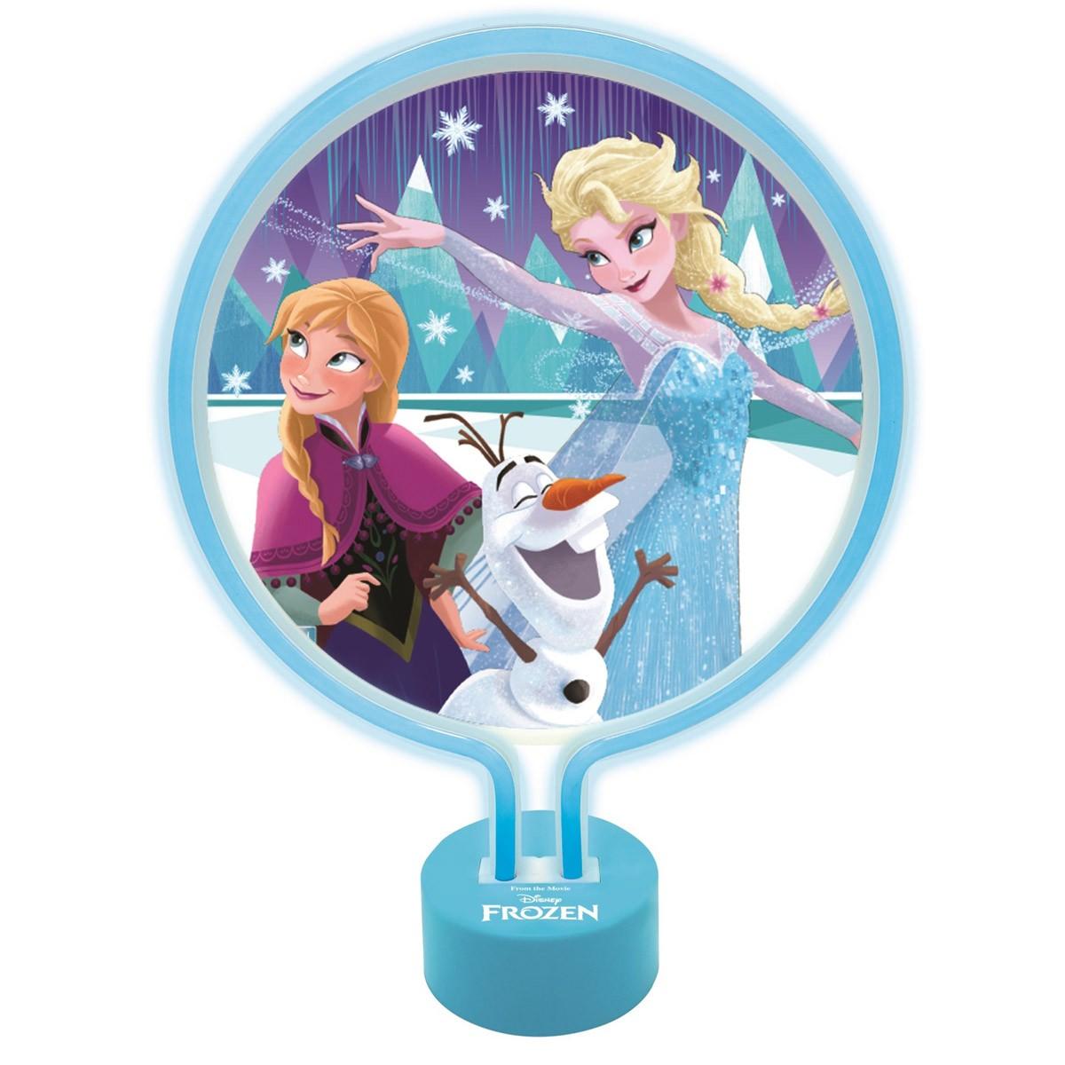 Lámpara de Neón Disney Frozen