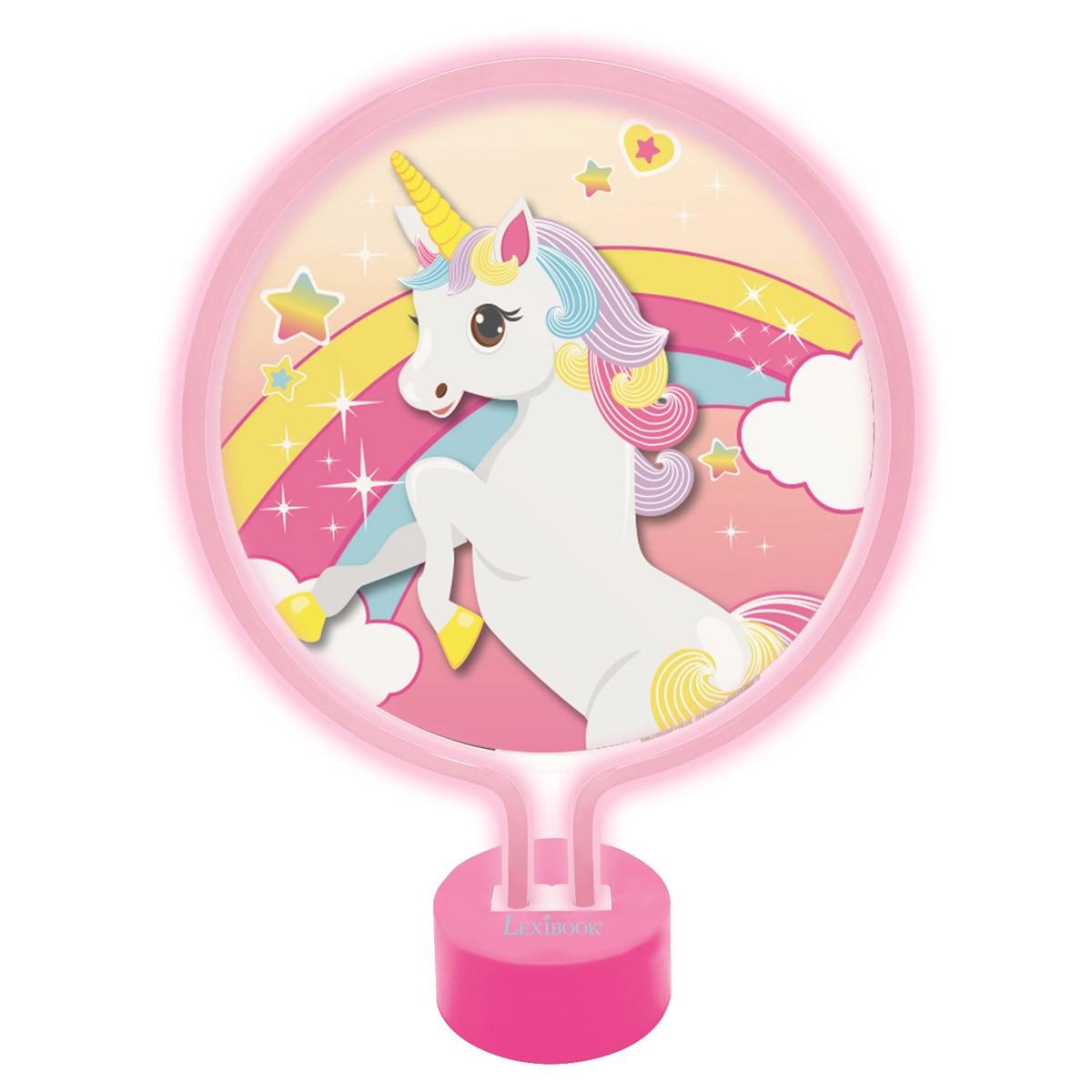 Lámpara de Neón Unicornio